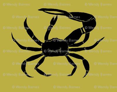 Fiddler Crabs - Olive