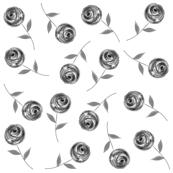single_flowerbw