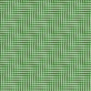 glitchy evergreen Christmas plaid