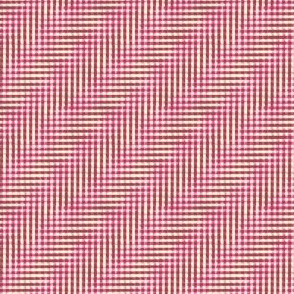 glitchy neapolitan plaid