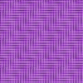 glitchy mad purple gingham