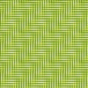 ferny green glitchy plaid