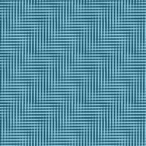 glitchy blue water ripple plaid