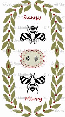 Bee Merry Christmas