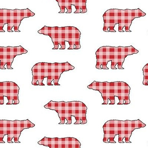 Red Gingham Bears // Sylvan Shoppe Collection