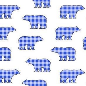 Blue Gingham Bears // Sylvan Shoppe Collection