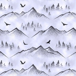 Eagles' Eye View // Blue Mist // Small
