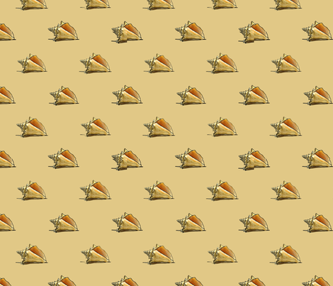 Shells fabric by qreflections on Spoonflower - custom fabric