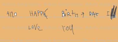 Also Happe Birth Day