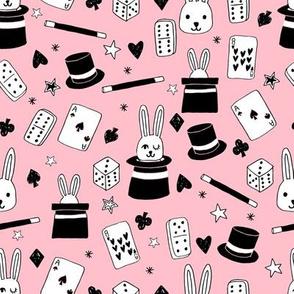 magic show // pink magic fabric magician kids baby design cute novelty design by andrea lauren