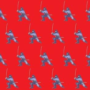 Ninja on Red