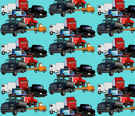 truck_fabric_design fabric by dogdaze_ on Spoonflower - custom fabric