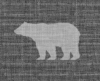 Linen Bears // Sylvan Shoppe Collection