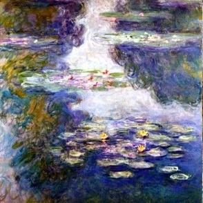 Waterlilies Nympheas Paysage D Eau Claude_Monet