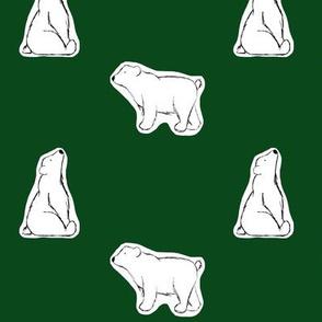 hey, bears. // green