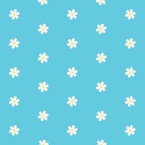 Daisy Dots - Teal
