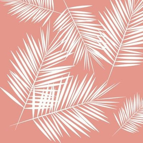 Palm Leaf Fabric Wallpaper Gift Wrap