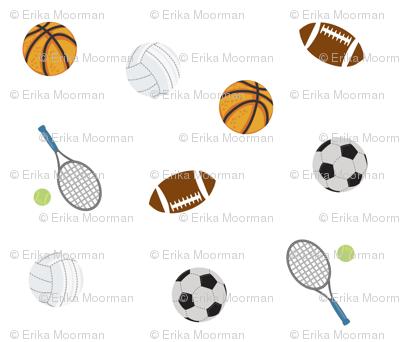 Sports  5 - ball games