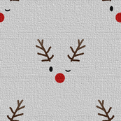 the red nosed rudolph - gray - c.r.