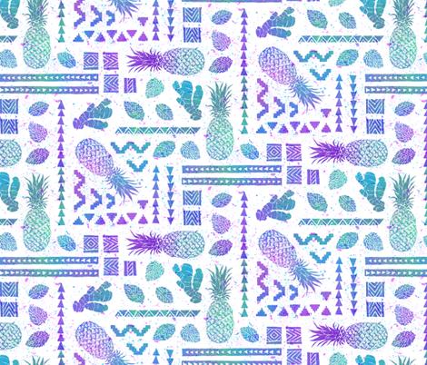 Pineapple Ginger Mint [multi] fabric by danlehman on Spoonflower - custom fabric