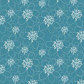 anemone dusty blue