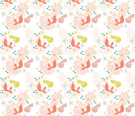 Rcoral-mermaid-fabric_shop_preview