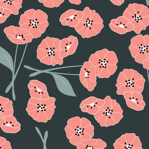 Retro flower pattern 003