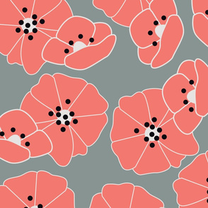 Retro flower pattern 005