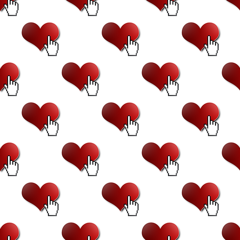 like me, please fabric by stofftoy on Spoonflower - custom fabric