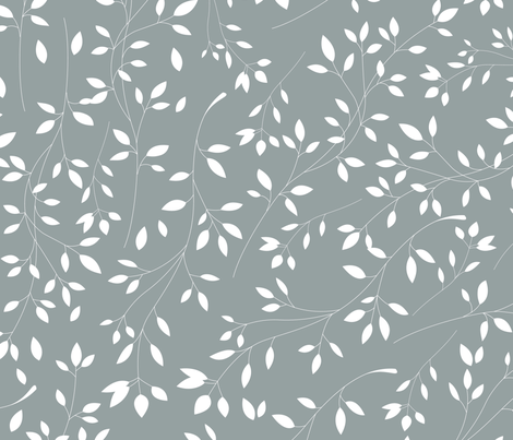 Delicate flora 002 fabric by bluelela on Spoonflower - custom fabric