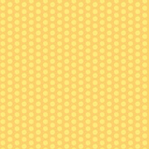 Yellow Polka Dot || Gold Lemon Orange Vintage Antique Quilt Pastel Spot _Miss Chiff Designs