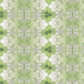 Fluttering Green Leaf Carpet