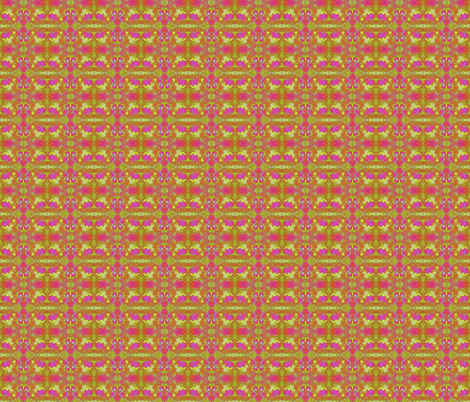 Pink to Yellow fabric by flowerchildtrends on Spoonflower - custom fabric