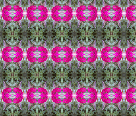 Monarch on Pink Flowers fabric by flowerchildtrends on Spoonflower - custom fabric
