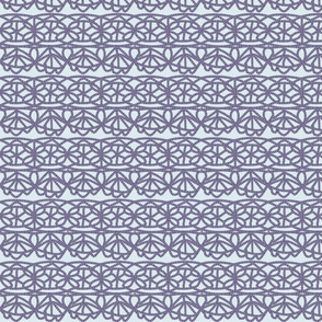 Crochet lace horizontal
