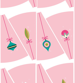 Ornament Circle Skirt Light Pink 54 Inch Fabrics