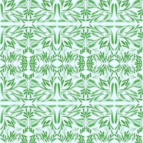 Mistletoe Kisses - Horizontal Border Stripe
