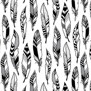 doodle feathers