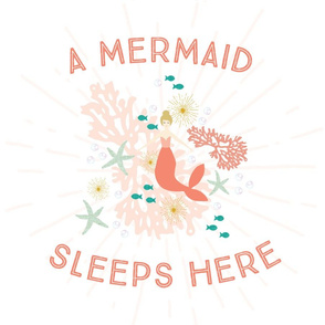 A Mermaid Sleeps Here Lovey // Blonde