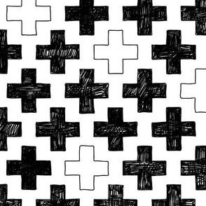 doodle cross