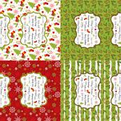 TeaTowels-Merry Sampler