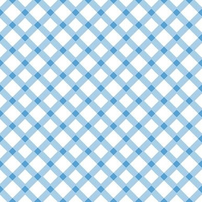 Light Blue Gingham Buffalo Check Checkered