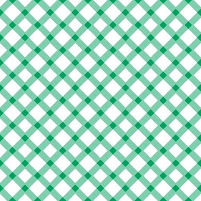 Green Gingham Buffalo Check Checkered