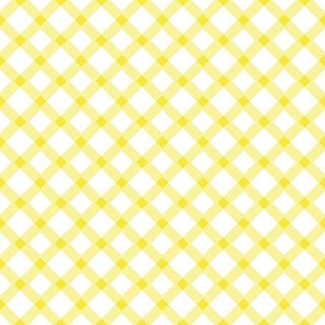 Yellow Gingham Buffalo Check Checkered