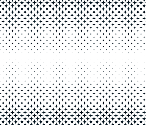 Black and White Diamond Gradient fabric by khaus on Spoonflower - custom fabric