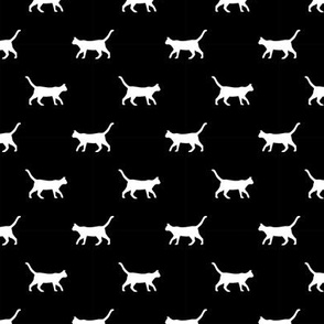 black cat silhouette fabric best cats design kitten fabric cats fabric cat silhouette design