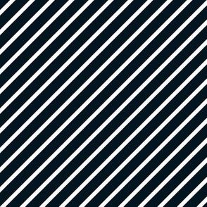 Black and White Diagonal Pinstripes Stripe