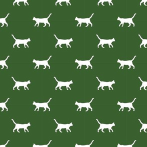 garden green cat silhouette fabric best cats design kitten fabric cats fabric cat silhouette design