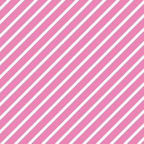 Pink and White Diagonal Pinstripes Stripe