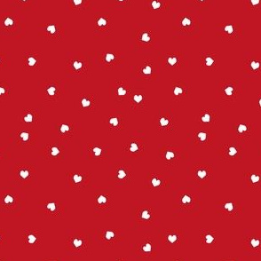 valentines red hearts red valentines hearts love cute valentines day fabric